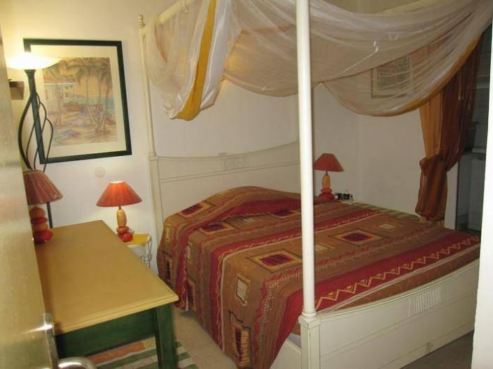 Location de vacances - Appartement à Le Gosier - Appartement F3 Chambre 2