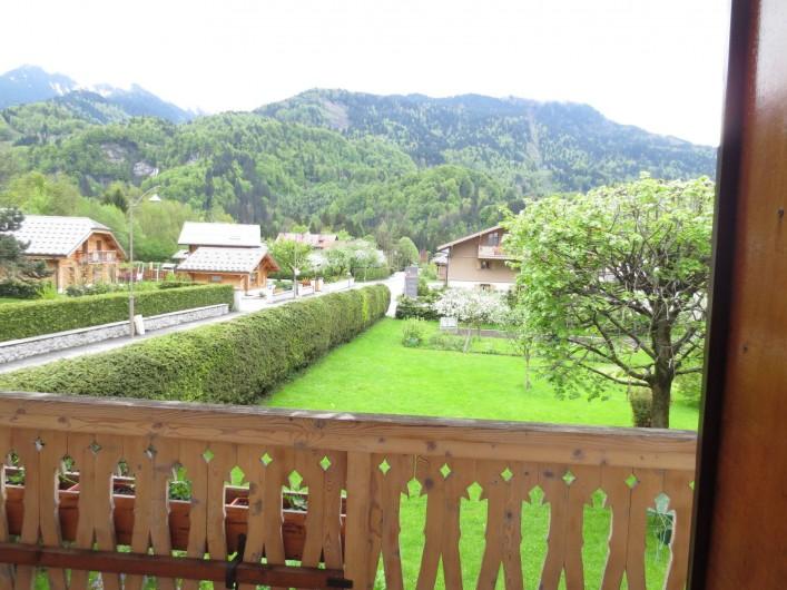 Location de vacances - Appartement à Samoëns - VUE DEPUIS L'APPARTEMENT