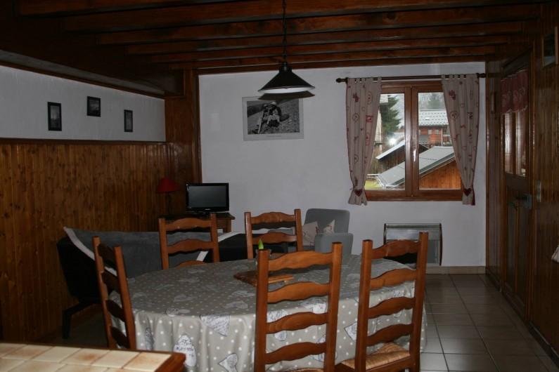 Location de vacances - Appartement à Samoëns - SALON - SALLE A MANGER