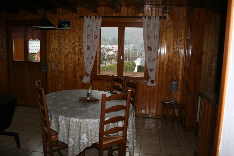 Location de vacances - Appartement à Samoëns - SALLE A MANGER