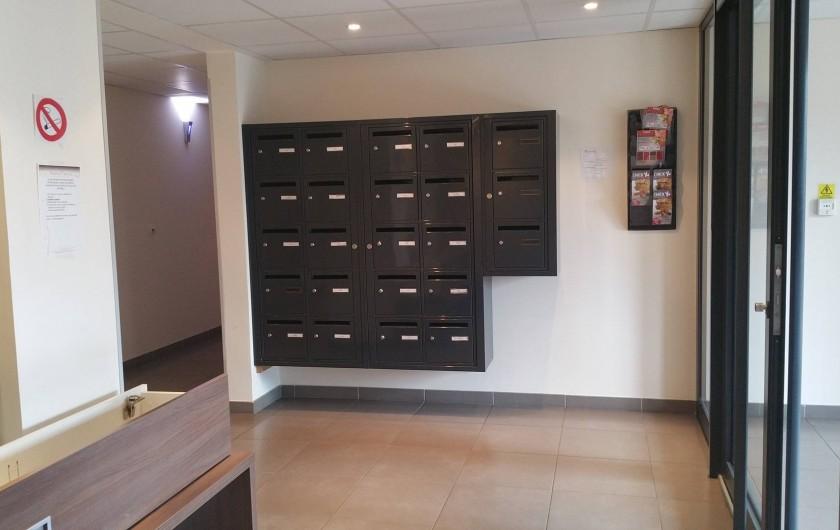 Location de vacances - Studio à Aix-en-Provence - Hall d'entrée