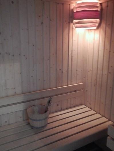 Location de vacances - Gîte à Lagrasse - Sauna