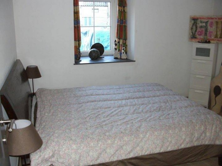 Location de vacances - Gîte à Ouffet - chambre 1 avec lit double