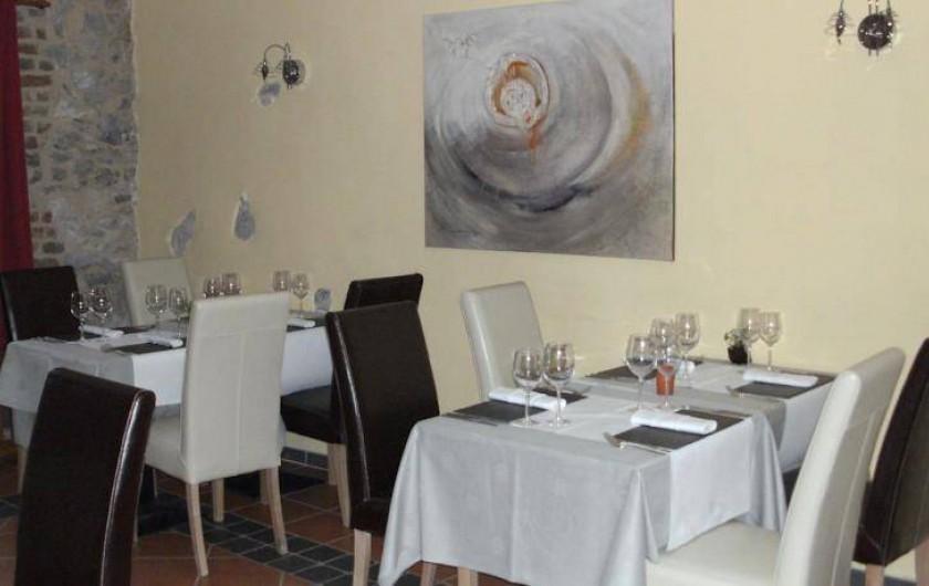 Location de vacances - Gîte à Ouffet - restaurant la ferme des oliviers