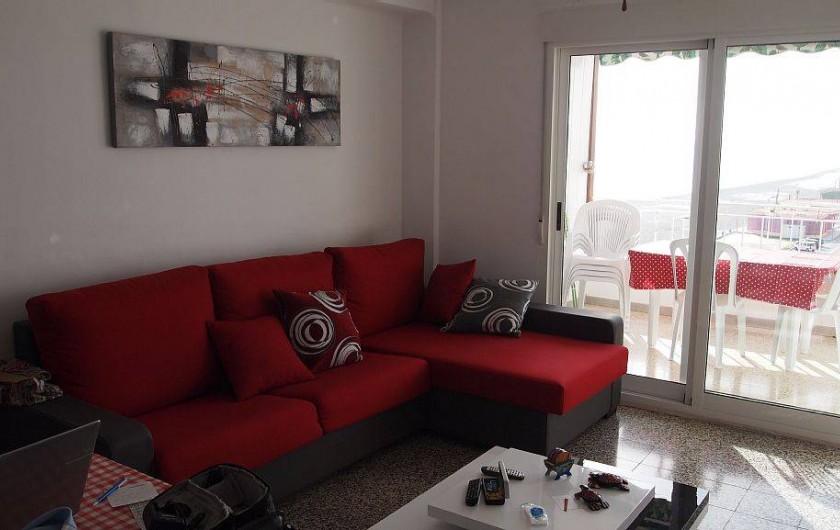 Location de vacances - Appartement à Santa Pola - le salon
