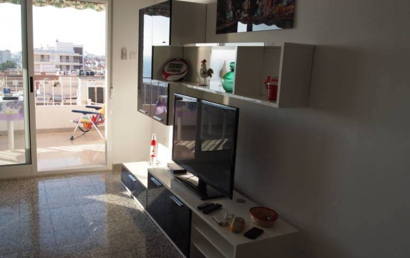 Location de vacances - Appartement à Santa Pola - piéce  trés ensoleillée