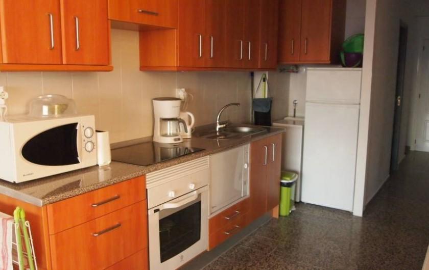 Location de vacances - Appartement à Santa Pola - cuisine americaine