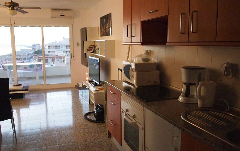 Location de vacances - Appartement à Santa Pola - vue d ensemble