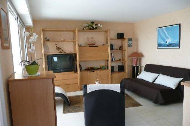 Location de vacances - Appartement à Saint-Quay-Portrieux - sejour