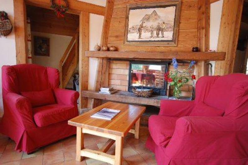 Location de vacances - Chalet à La Salle-les-Alpes - cheminée