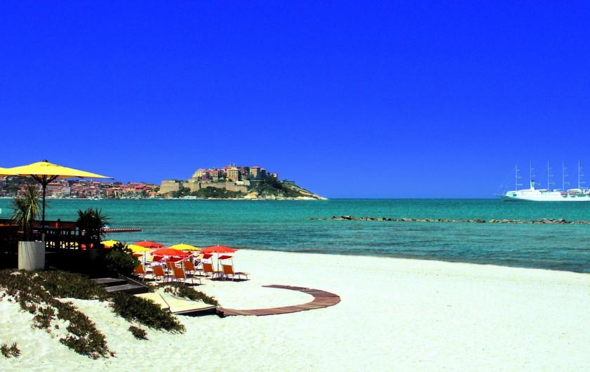 Location de vacances - Bungalow - Mobilhome à Calvi - A 700m de la  plage de calvi