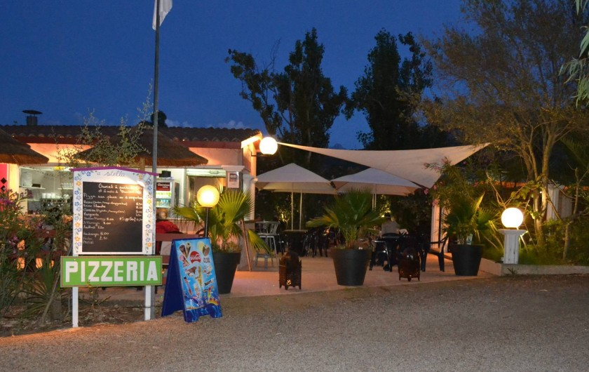 Location de vacances - Bungalow - Mobilhome à Calvi - snack-bar-pizzéria