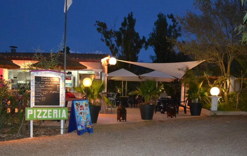 Location de vacances - Bungalow - Mobilhome à Calvi - snack-bar-pizzéria