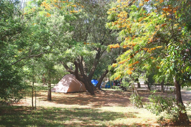 Location de vacances - Bungalow - Mobilhome à Calvi - terrain de camping
