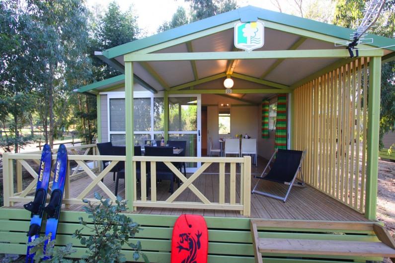Location de vacances - Bungalow - Mobilhome à Calvi - extérieur bungalows Moréa 2/3/4/5pers