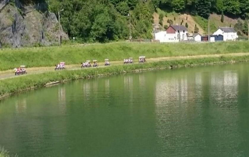 Location de vacances - Chambre d'hôtes à Bogny-sur-Meuse - La Cabane Allard