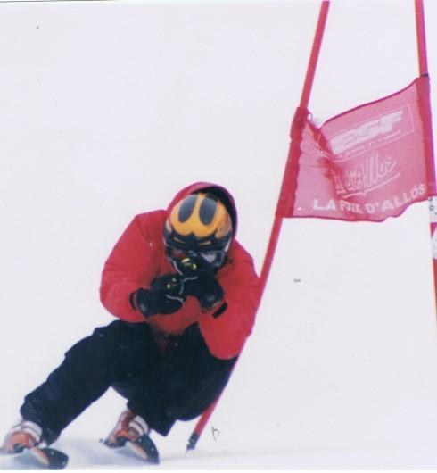 Location de vacances - Studio à La Foux d'Allos - Ouverture d'un test de Flèche Ecole du Ski Francais