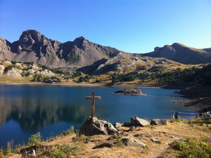 Location de vacances - Studio à La Foux d'Allos - Le lac d'Allos