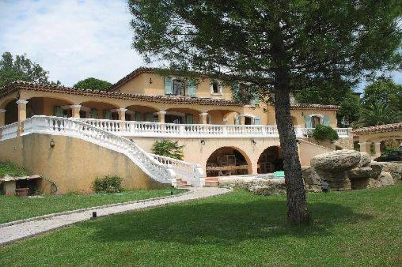 Location de vacances - Villa à Cannes - Villa des oliviers jardin