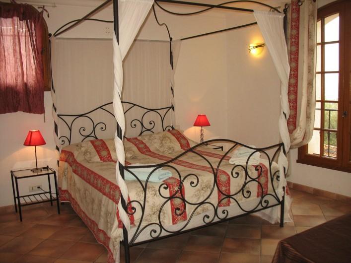 Location de vacances - Villa à Cannes - Chambre- suite 6 étage