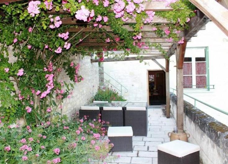 Location de vacances - Gîte à Bourré - Terrasse