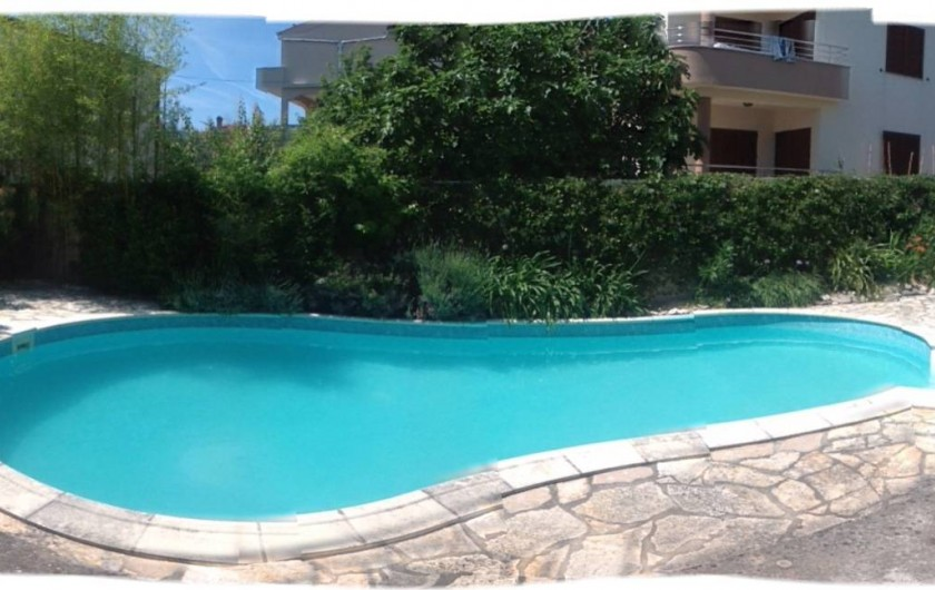 Location de vacances - Appartement à Zadar - Piscine privee