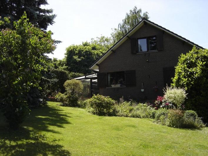 Location de vacances - Gîte à Aywaille - Les Fuchsias en été