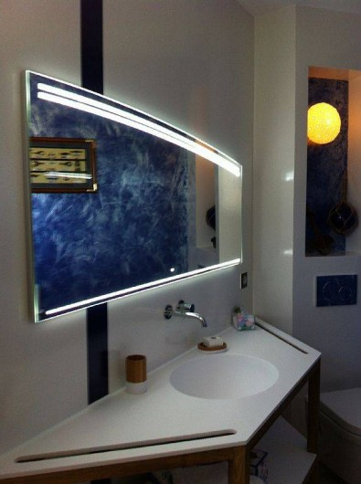 Location de vacances - Villa à Lecci - ...avec sa salle d'eau et wc privée