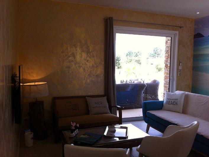 Location de vacances - Villa à Lecci - Salon