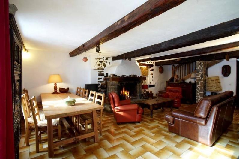 Location de vacances - Maison - Villa à Saint-Dalmas-le-Selvage - Salle à manger