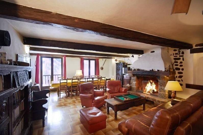 Location de vacances - Maison - Villa à Saint-Dalmas-le-Selvage - Salon