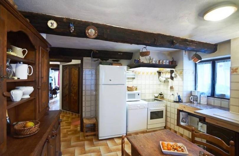 Location de vacances - Maison - Villa à Saint-Dalmas-le-Selvage - Cuisine équipée