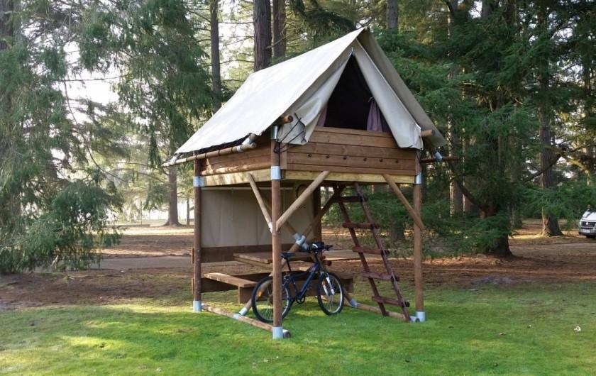 Location de vacances - Camping à Altkirch - Bivouac sur piloti