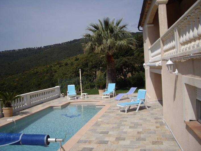 Location de vacances - Villa à Les Issambres - VUE