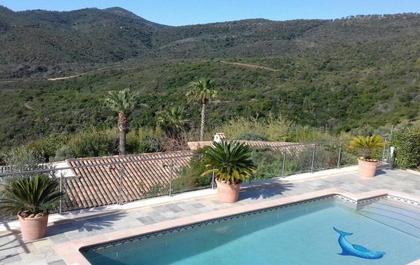 Location de vacances - Villa à Les Issambres - VUE COLLINES