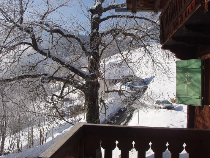 Location de vacances - Chalet à Val-d'Illiez