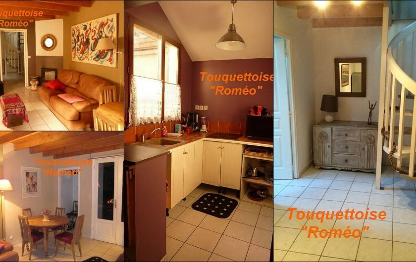 Location de vacances - Maison - Villa à Le Touquet-Paris-Plage - Maison ROMEO, petite cuisine équipée, baignoire, machine à laver