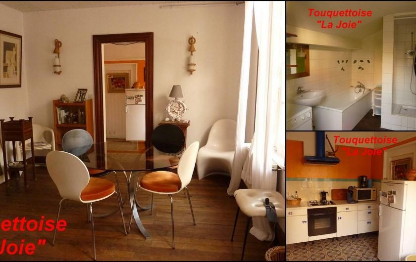 Location de vacances - Maison - Villa à Le Touquet-Paris-Plage - Maison LA JOIE- cuisine équipée, SQB : baignoire + douche / machine à laver
