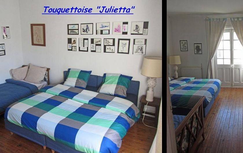 Location de vacances - Maison - Villa à Le Touquet-Paris-Plage - Maison JULIETTA -  7 couchages, 2chambres séparées