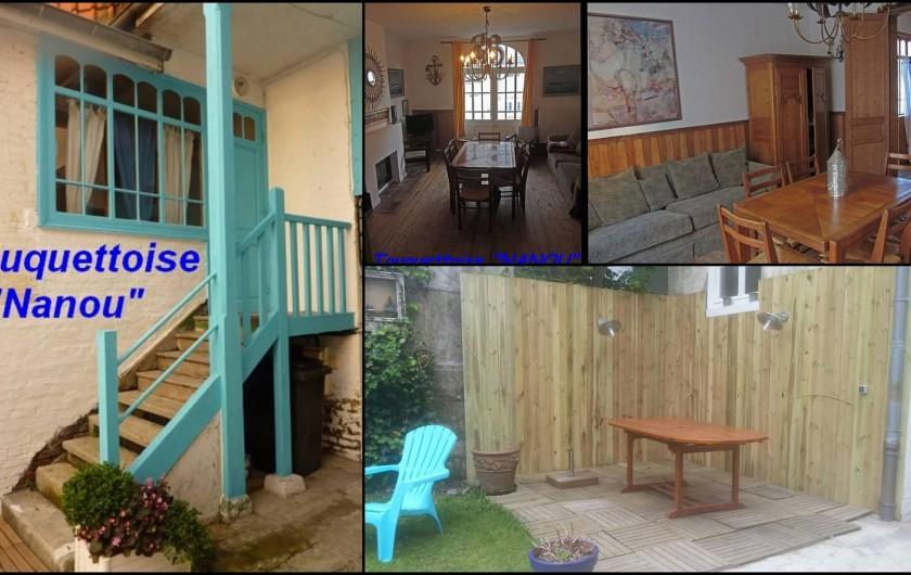 Location de vacances - Maison - Villa à Le Touquet-Paris-Plage - Maison NANOU -8 couchages (poss 10), 3 chambres séparées /terrasse / cour