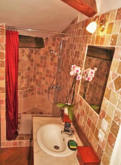 Location de vacances - Maison - Villa à Saint-Rémy-de-Provence - La douche à l'italienne