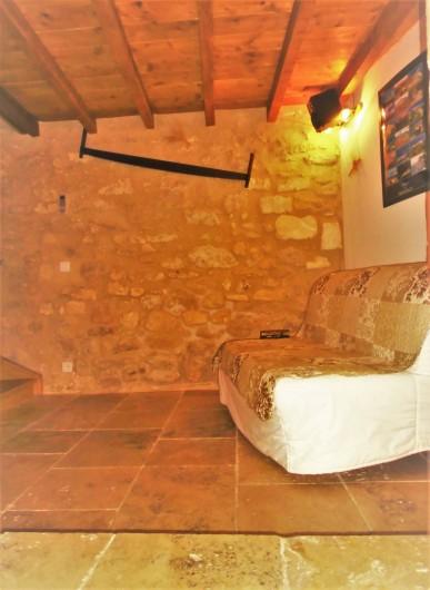 Location de vacances - Maison - Villa à Saint-Rémy-de-Provence - Le salon télévision.