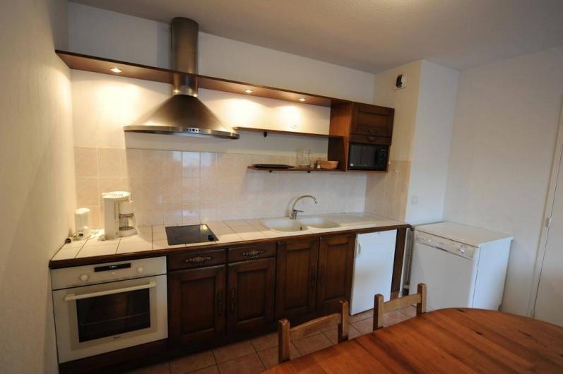 Location de vacances - Appartement à Bourg-Saint-Maurice - coin cuisine
