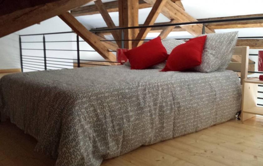 Location de vacances - Gîte à Armissan - Chambre lit 140 gîte 2