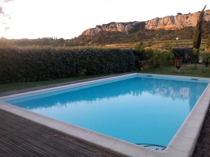 Location de vacances - Gîte à Armissan - Piscine