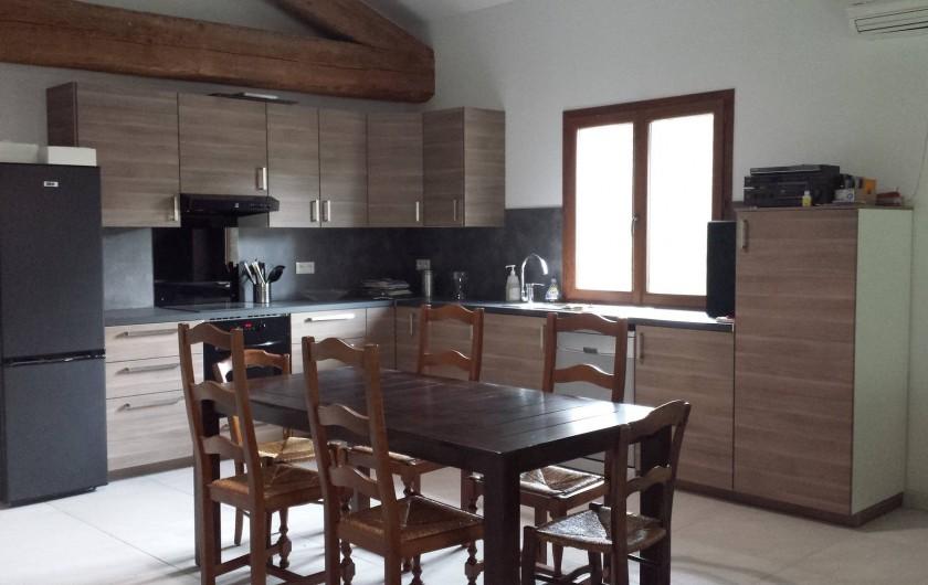 Location de vacances - Gîte à Armissan - Cuisine gîte 2