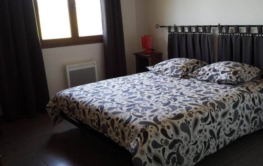Location de vacances - Gîte à Armissan - Chambre lit en 160 gîte 2
