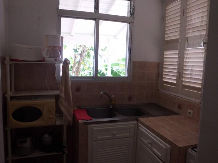 Location de vacances - Studio à Terre-de-Haut - coin cuisine