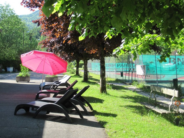 Location de vacances - Bungalow - Mobilhome à Nantua - Aire de détente