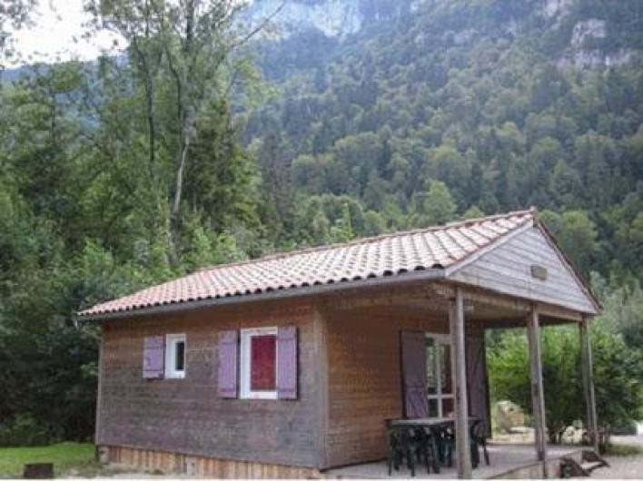 Location de vacances - Bungalow - Mobilhome à Nantua - Chalet 4/6 pers